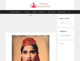 sonam-kapoor.net screenshot
