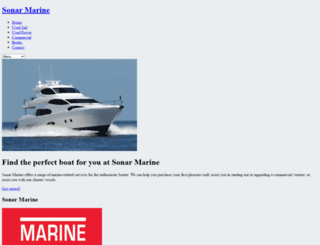 sonarmarine.com.au screenshot