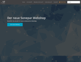 sonepar.at screenshot