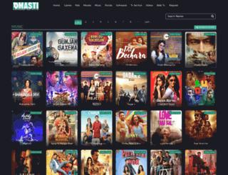 songs.dmasti.pk screenshot