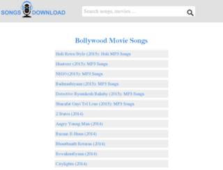 songsdownload.org.in screenshot