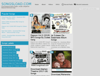 songsload.com screenshot