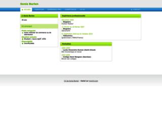 soniaburlen.moncv.com screenshot