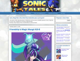 sonic-tales.blogspot.com.br screenshot