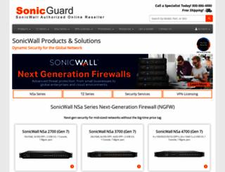 sonicguard.com screenshot