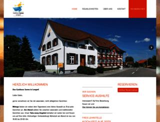 sonne-lengwil.ch screenshot