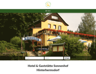 sonnenhof-hinterhermsdorf.de screenshot
