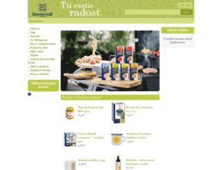sonnentor-obchod.sk screenshot