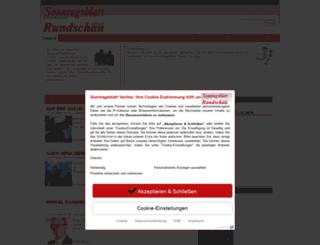 sonntagsblatt-vechta.de screenshot
