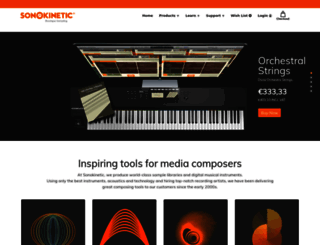 sonokinetic.net screenshot