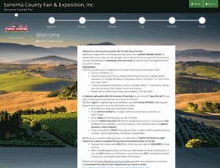 sonoma.fairmanager.com screenshot