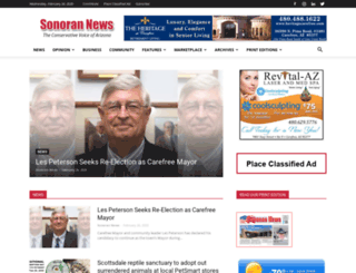 sonorannews.com screenshot