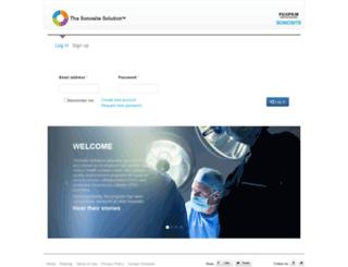 sonositesolutions.com screenshot