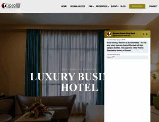 sonotelhotels.com screenshot