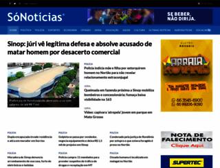 sonoticias.com.br screenshot