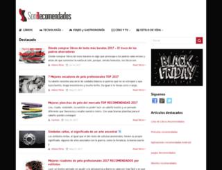 sonrecomendados.com screenshot