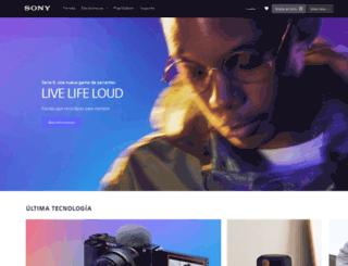 sony.com.gt screenshot