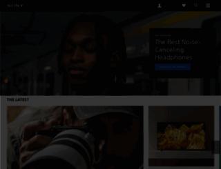 sony.com.ph screenshot