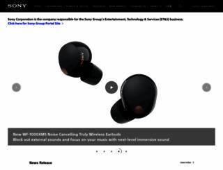 sony.net screenshot