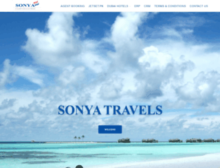 sonyatravels.net screenshot
