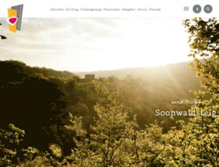soonwaldsteig.de screenshot