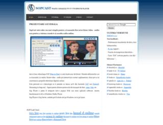 sopcast.ro screenshot