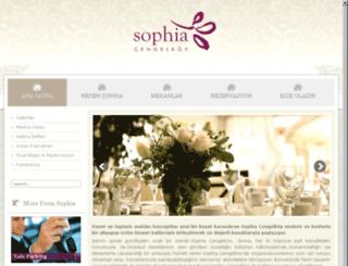 sophiacengelkoy.com screenshot