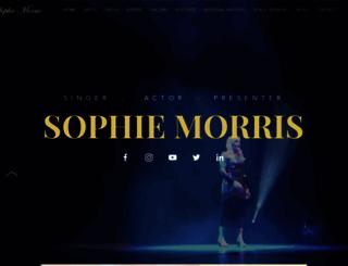sophie-morris.com screenshot
