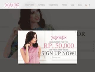 sophistix.co.id screenshot