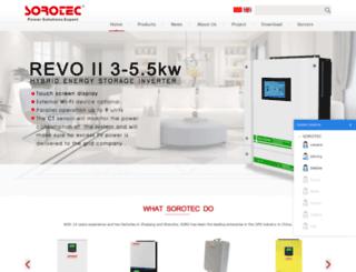 soropower.com screenshot