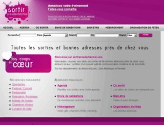 sortirpresdechezmoi.com screenshot