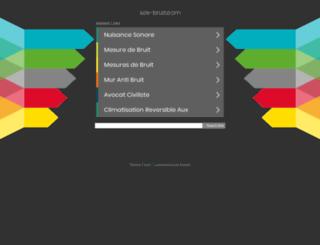 sos-bruit.com screenshot