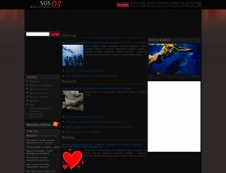sos03.lt screenshot
