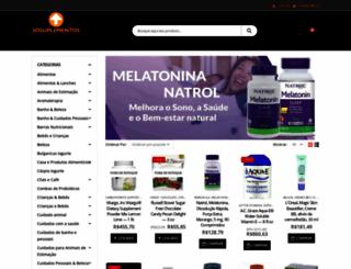 sosuplementos.com.br screenshot