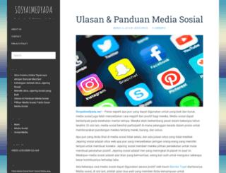 sosyalmedyada.net screenshot