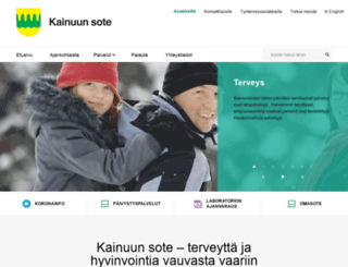 sote.kainuu.fi screenshot