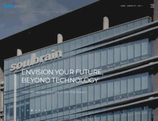 soulbrain.co.kr screenshot
