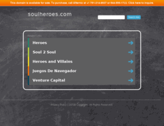 soulheroes.com screenshot