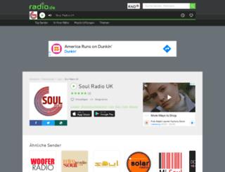 soulradiouk.radio.de screenshot
