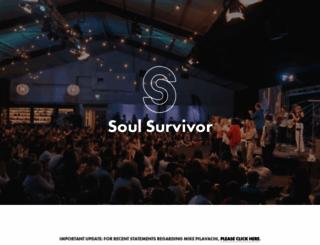 soulsurvivor.com screenshot