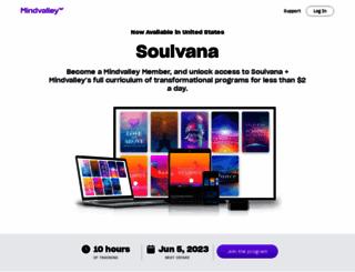 soulvana.com screenshot