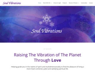 soulvibrations.ca screenshot