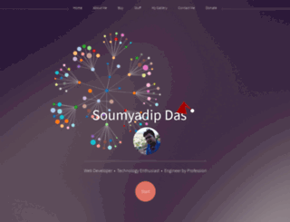 soumyadip.in screenshot