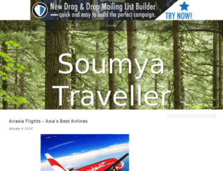 soumyatraveller.bravesites.com screenshot