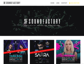 sound-factory.de screenshot