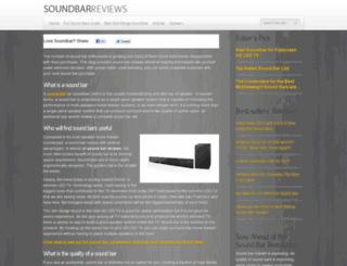 soundbarreviewshq.net screenshot