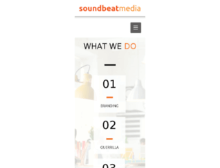 soundbeatmedia.com screenshot