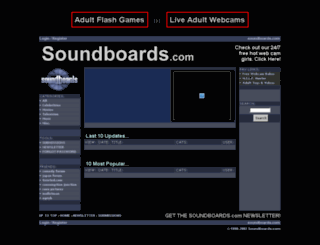 soundboards.com screenshot