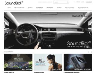 soundbot.com screenshot