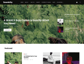 soundcity.tv screenshot